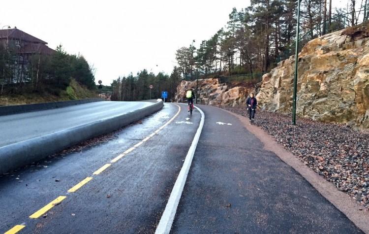 Informasjon om Sykkelvei med fortau Tretjønnveien, Borghildsvei-Presteheia skole