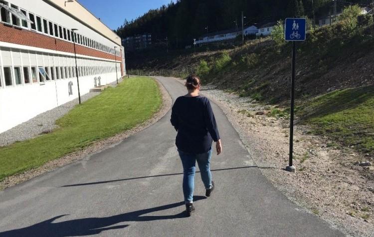 Informasjon om Gang- og sykkelvei ved Vennesla ungdomsskole