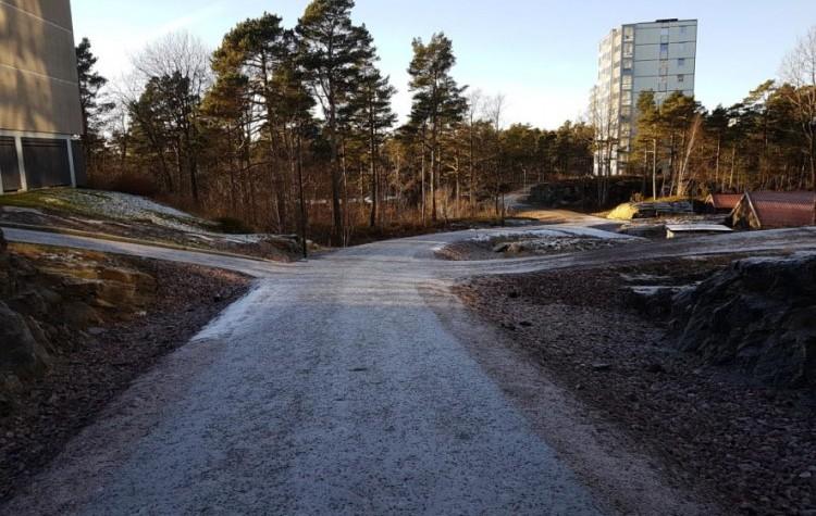 Informasjon om Gang- og sykkelvei Slettheiveien 28A - Rugdeveien