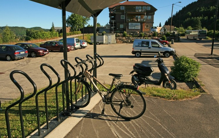 Informasjon om Innfartsparkering Gamle Postgården